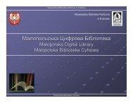 Малопольська Цифрова Бібліотека - Fidkar