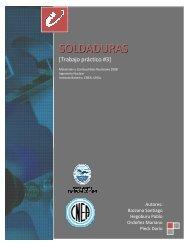 SOLDADURAS - Instituto Balseiro - CNEA
