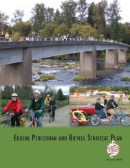 eugene pedestrian and bicycle strategic plan - Scholars - University ...
