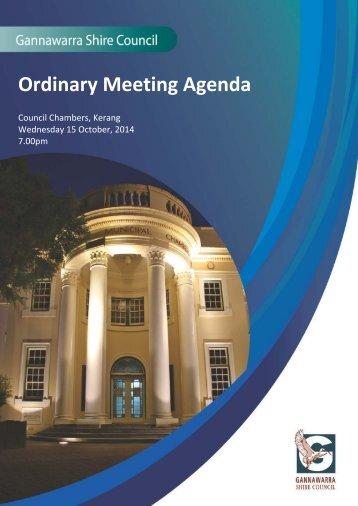 Agenda-15-October-2014