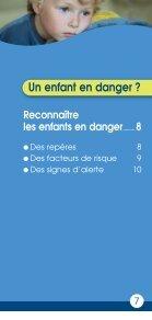 Repérer et protéger les enfants en danger - Page 7