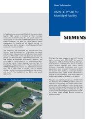 Park City Case Study - Siemens Water Technologies
