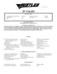 25' TALON - Funboats