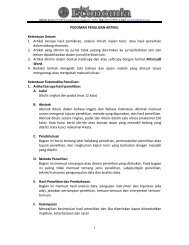 Pedoman penulisan artikel - Blog at UNY dot AC dot ID