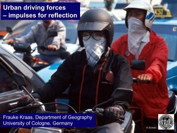 Urban driving forces – impulses for reflection - Forum for Urban ...