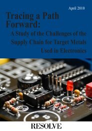Tracing a Path Forward - Electronic Industry Citizenship Coalition