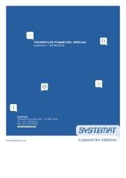 Tussentijds financieel verslag - juni 2010