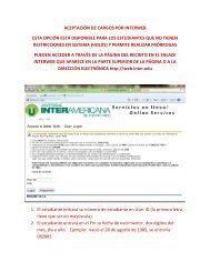 Ya puedes realizar tu pago de matrícula a través de Interweb! (pdf)
