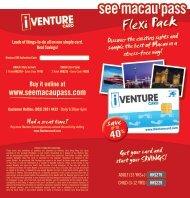 see macau pass Flexi Pack - See Macau Pass - iVenture Card