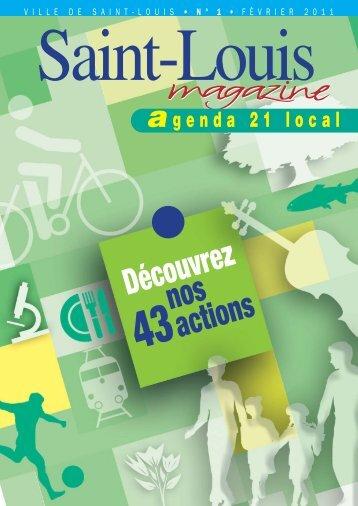 Agenda local n° 1 en pdf - Saint-Louis