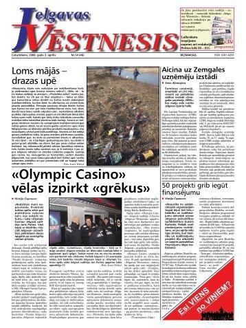 2008. gada 3.aprīlis. Nr14(46) - Jelgavas Vēstnesis