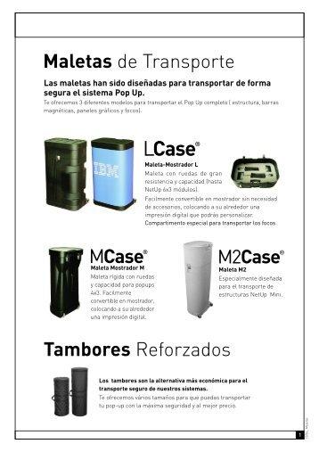 f007c5779 Maletas de Transporte Tambores Reforzados - Netdisplay