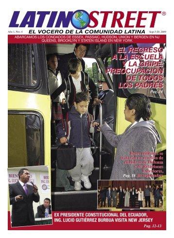 EL REGRESO A LA ESCUELA Y LA GRIPE ... - LatinoStreet.Net
