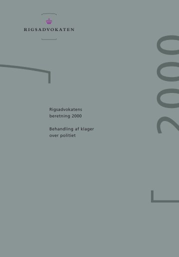 beretning for 2000 - Krim