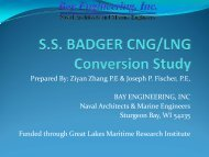 S.S. Badger Engineering Study - Great Lakes Maritime Research ...