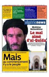 Fr-30-05-2013 - Algérie news quotidien national d'information