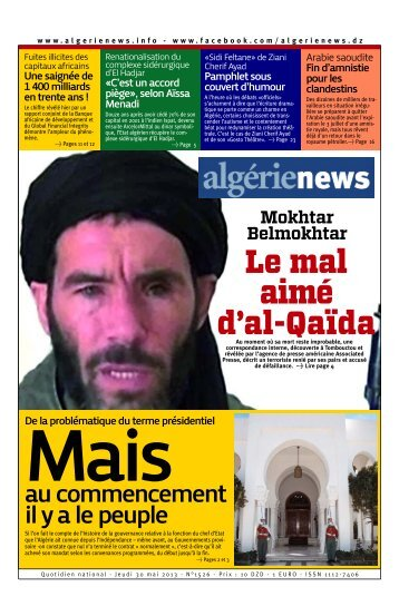 Fr-30-05-2013 - Algérie news quotidien national d'information
