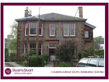 5 QUEENS AVENUE SOUTH, EDINBURGH EH4 2BU - Stuart & Stuart