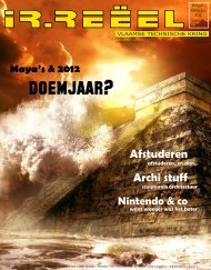 Maya's & 2012 doemjaar? - VTK