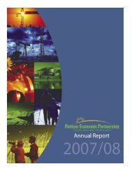 Annual Report - Palliser Economic Partnership