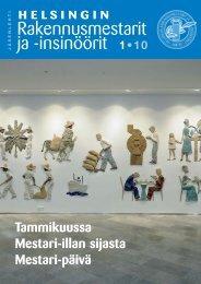 Yhdistyksen jäsenlehti 1/10, PDF tiedosto - Helsingin ...