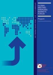 Airlie 2011 Final Program... - Emerging Markets Forum