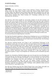 Zusammenfassung Workshop 2 (47 KB) - .PDF - Marktgemeinde St ...
