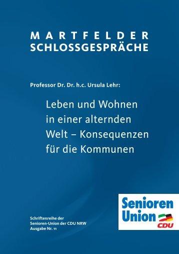 Konsequenzen für die Kommunen - Senioren-Union NRW