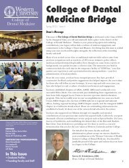 Current Issue - Western University of Health Sciences