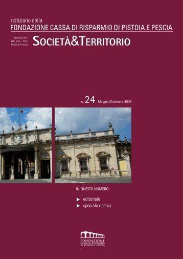 n.24 - Maggio/Dicembre 2008 - Fondazione Cassa di Risparmio di ...
