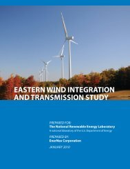Eastern Wind Integration and Transmission Study (EWITS)