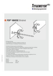 POP®-MASSE Blindniet - Tu-val