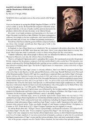 Ralph Vaughan Williams - Dr David Wright
