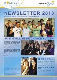 KONTRAKT Newsletter 2013