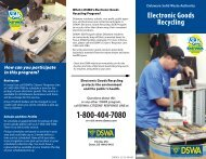 Electronic Goods for Recycling Brochure - Delaware Solid Waste ...