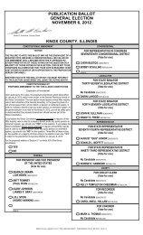 PUBLICATION BALLOT GENERAL ELECTION ... - KnoxClerk.org