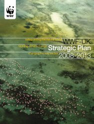 2008-2013 WWF-UK Strategic Plan
