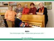 Oldies leben gemeinsam aktiv - complan Kommunalberatung GmbH