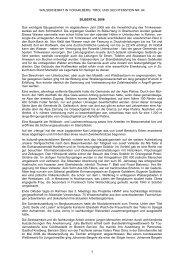 Chronik der Gemeinde Silbertal für das Jahr 2008 - Vorarlberger ...