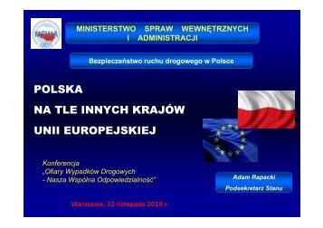 Polska na tle innych krajów Unii Europejskiej - Ministerstwo Spraw ...