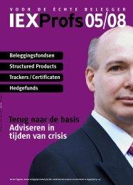 terug naar de basis Adviseren in tijden van crisis - Iex