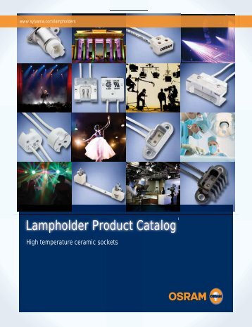 Lampholder Product Catalog - Osram Sylvania
