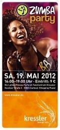 SA. 19. MAI 2012 - Tanzschule Frank
