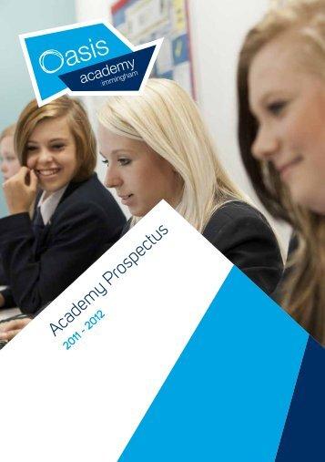 Academy Prospectus - Oasis Academy Immingham