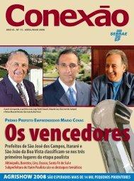 Prefeitos de São José dos Campos, Itararé e São João da ... - Sebrae