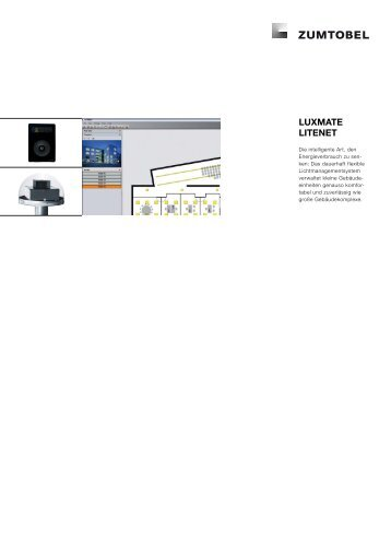 LUXMATE LITENET - Zumtobel