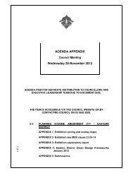 e.1 planning scheme amendment c77 - South Gippsland Shire Council