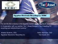 Recycling / E-Waste Egypt