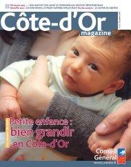 Décembre 2009 en PDF - Conseil Général de la Côte-d'Or