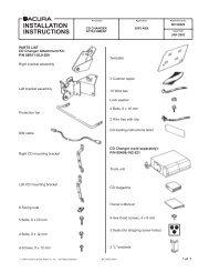 CD Changer Bracket Install - Dali Racing